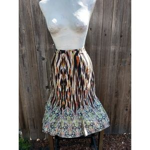 Multi color skirt size 12